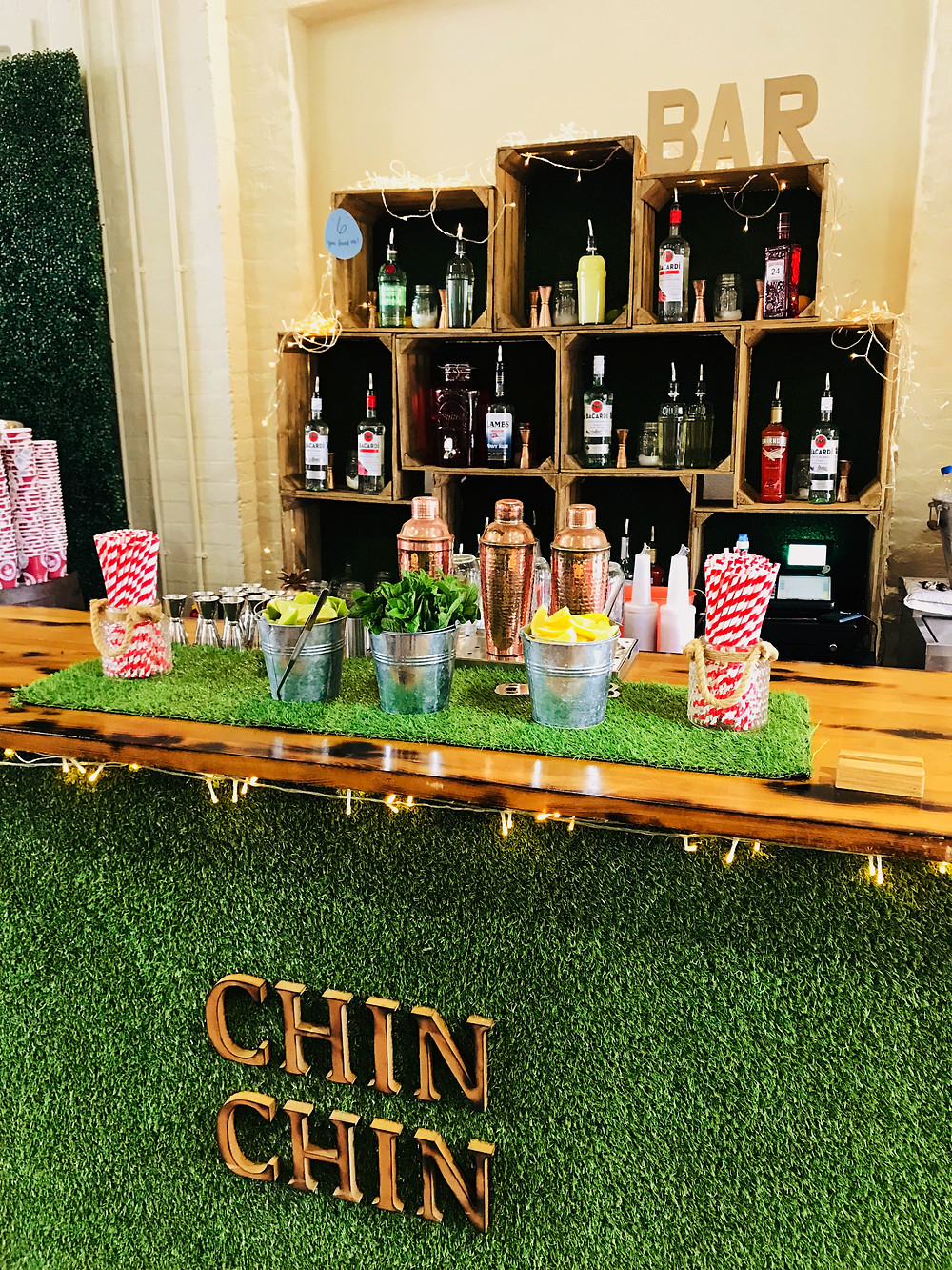 Chin Chin Lawn Bar at Etsy Made Local Easter Edition Canterbury