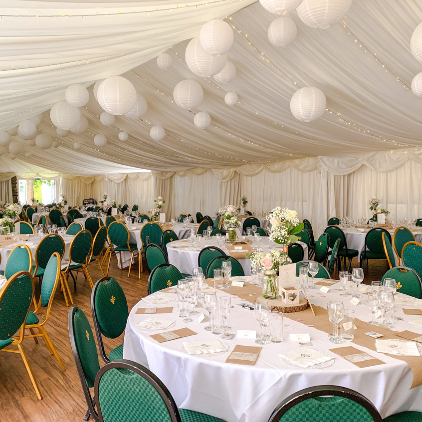 Marquee Styling at Gilwell Park