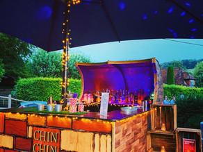 East Dean Village Hall Wedding | Chin Chin Caravan Bar at Richie & Stephanie's Chichester We
