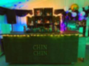 Chin Chin Lawn Bar at Steve's 45th Birth