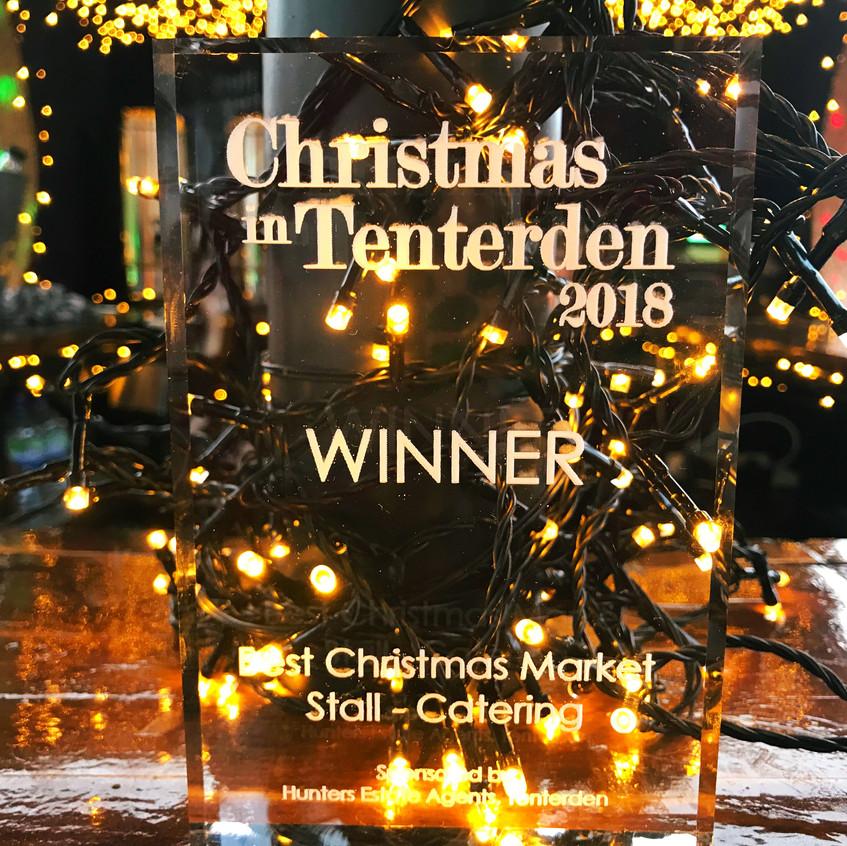 Best Christmas Market Stall Award