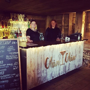 Benjamin & Joanna's Barn Wedding   Chin Chin Driftwood Bar   The Black Barn Stansted in Sevenoaks