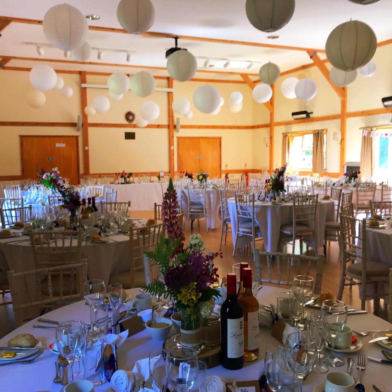 Chin Chin Caravan Bar at Andrew & Helen's Wedding at Lower Hardres Village Hall in Canterbury2