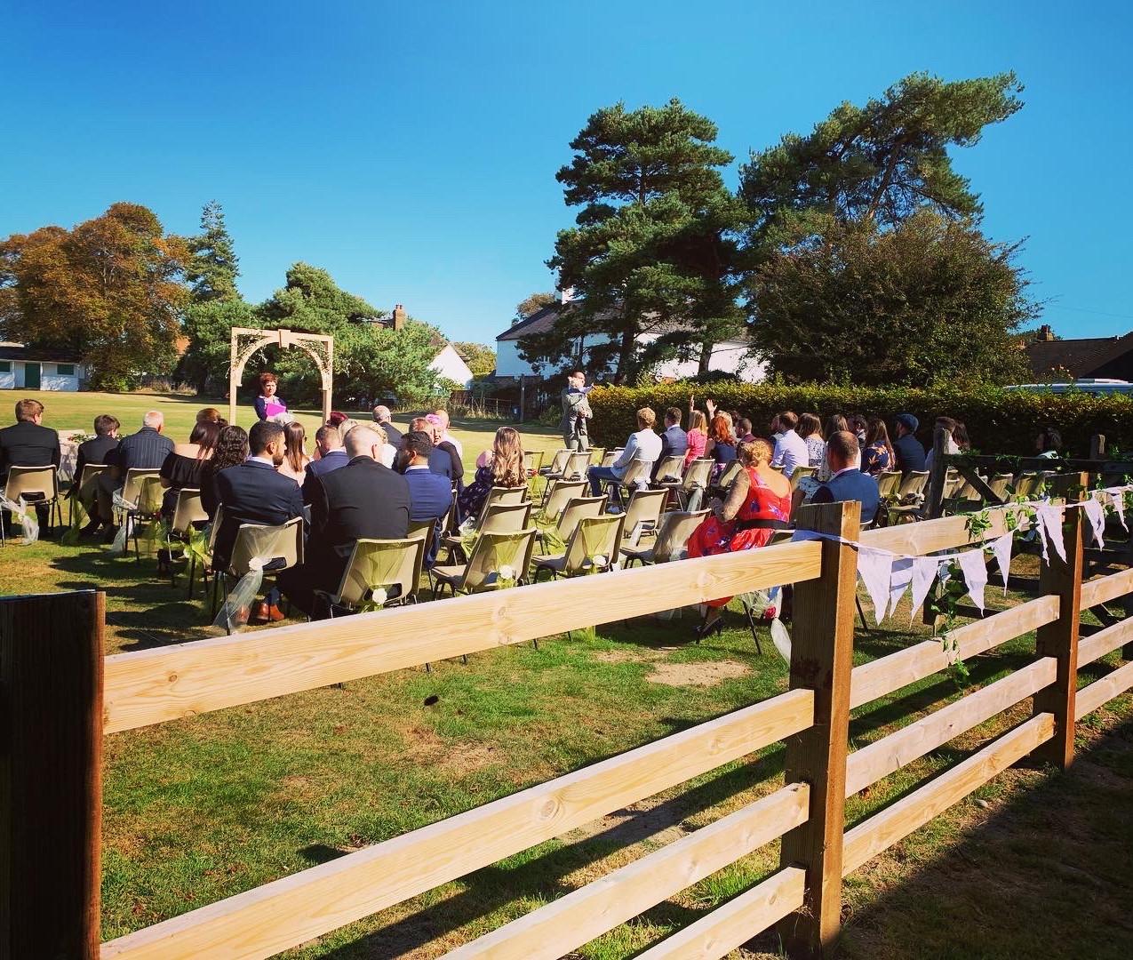 Basil & Hannah's Wedding Ceremony
