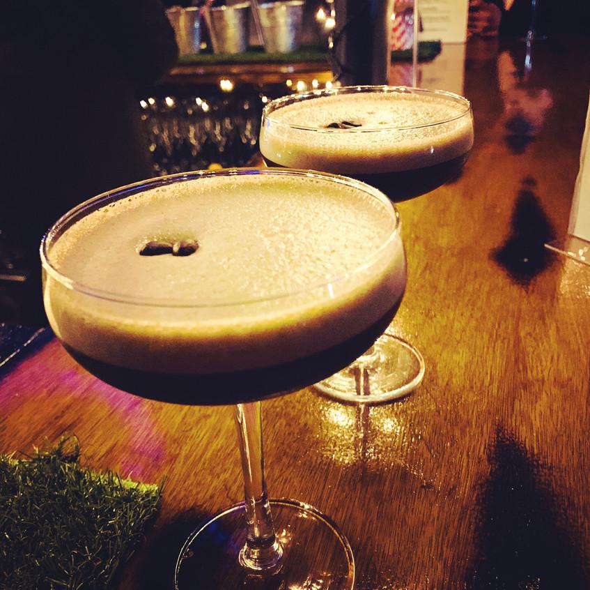 Salted Caramel Espresso Martini
