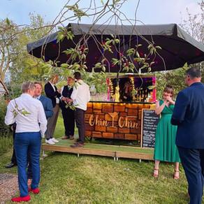 Chris & Steph's Barn Wedding   Chin Chin Caravan Bar   Ratsbury Barn in Tenterden, Kent