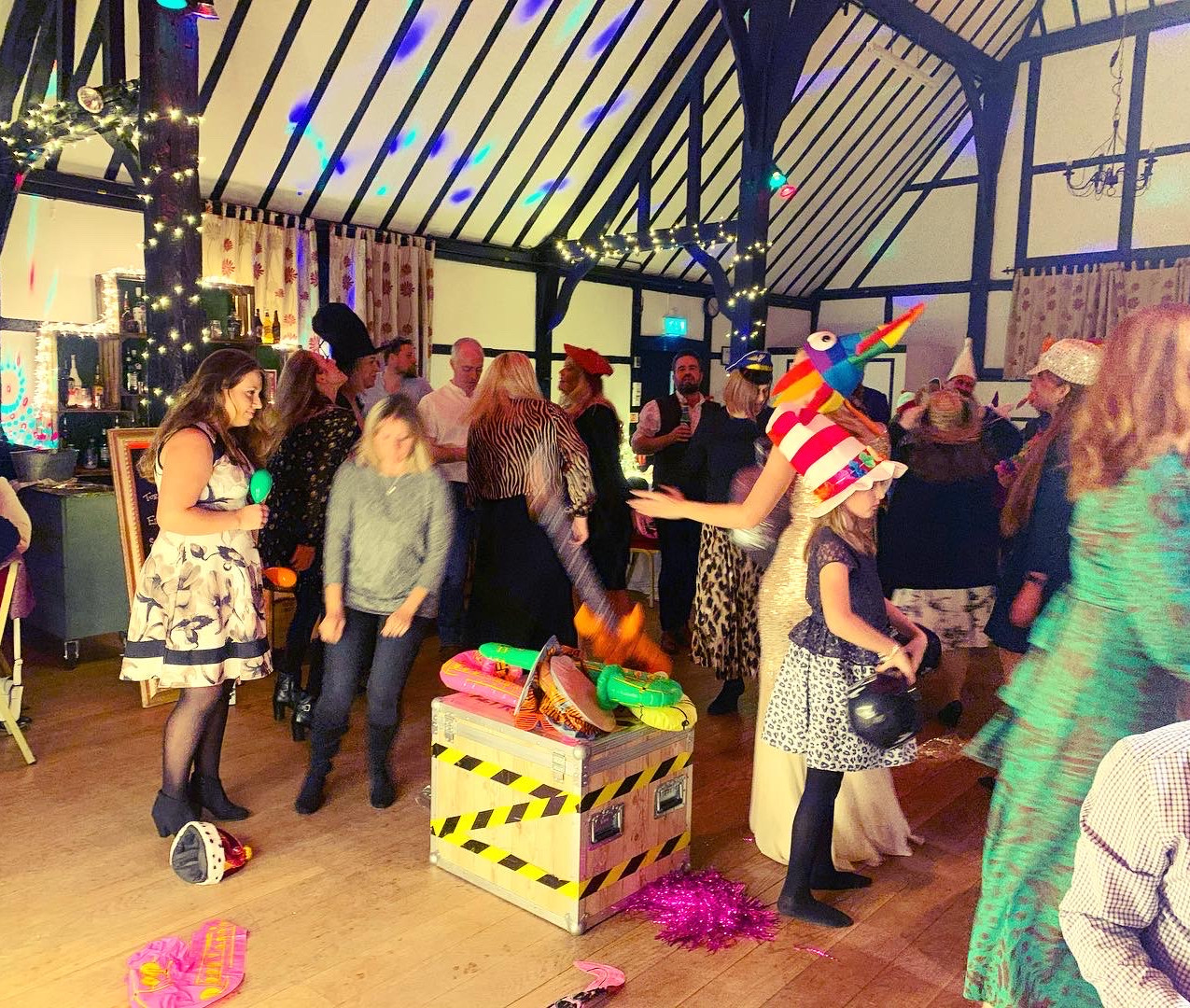 Chilham Village Hall Party