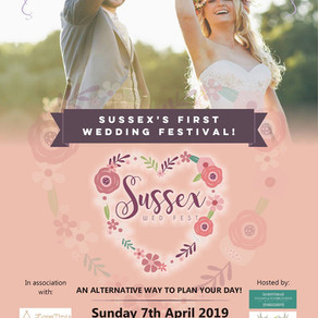 Festival Boho Wedding Planning | Sussex Wed Fest on Sunday 7th April 2019