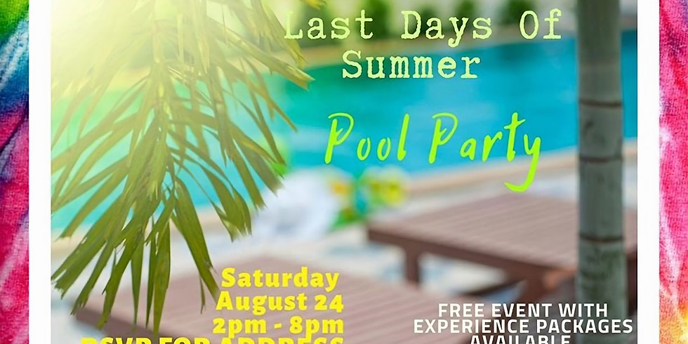 Last Days of Summer Pool Party