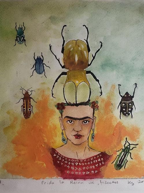 Frida,La Reina de los Insectos