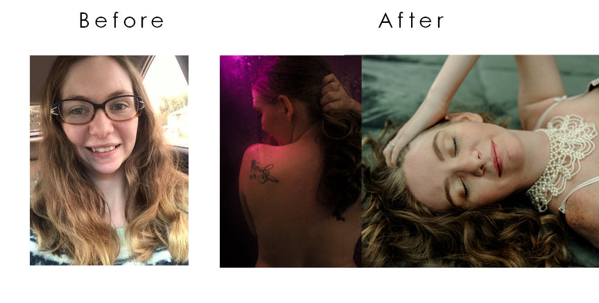 Cortney before and after