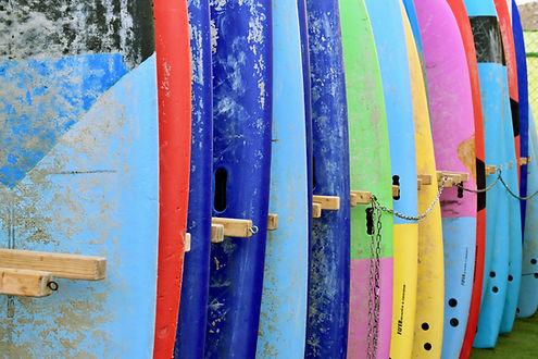Reparaturen von Surfgeräten