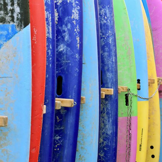 Réparation d'équipement de surf