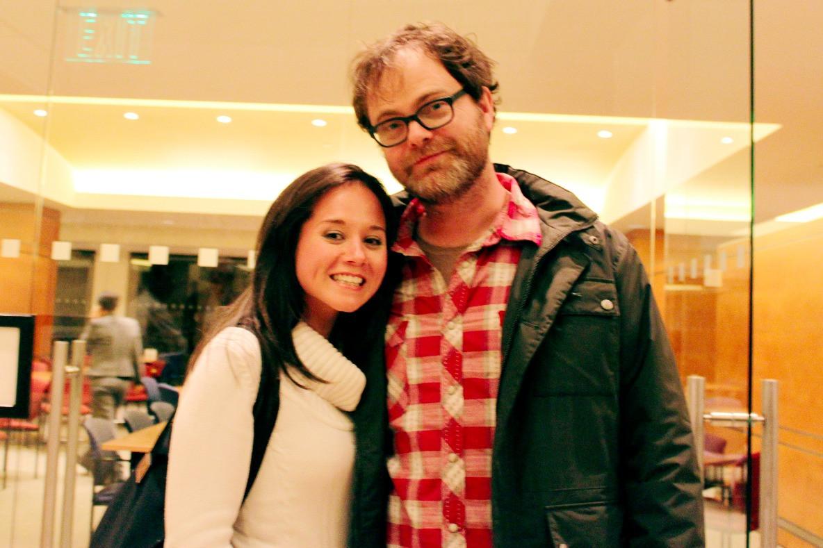 Me & Rainn Wilson!