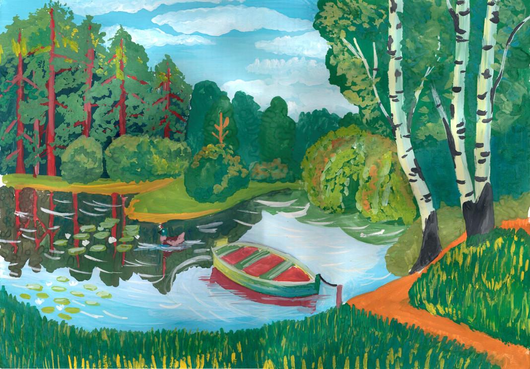 Рисунок на тему о природе