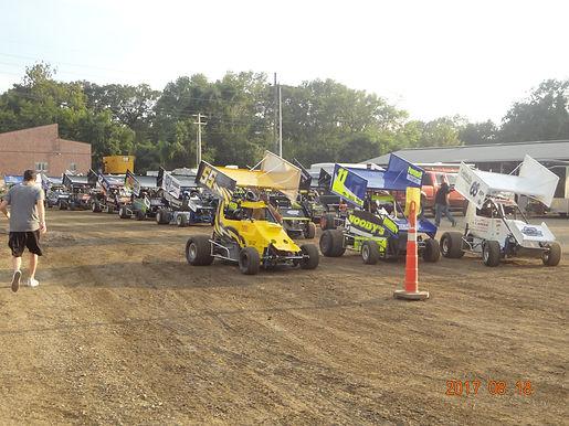 Belle Claire Speedway 8/18/2017.