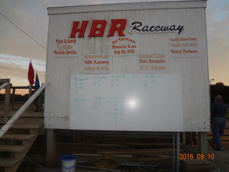 HBR Raceway Pro Purple - Winner Fast Action Racing Team #55 Charlie Keeven 9/11/2016.