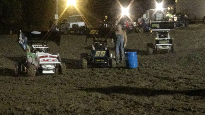 Southern Illinois Raceway 10/7/2017 Rained yet we still raced!