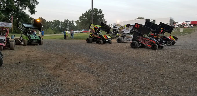 Southern Illinois Raceway Outlaw Wing Micro 8/11/2018.