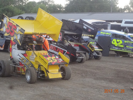 Belle Claire Speedway 5/28/2017.