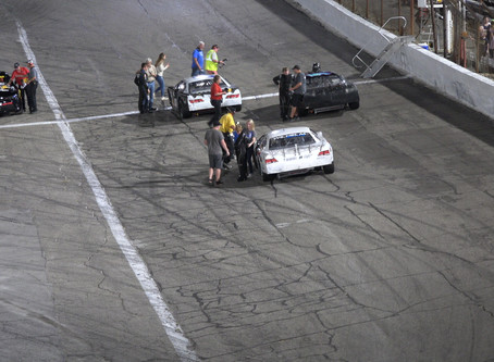 Charlie Keeven takes 2nd at Anderson Speedway CRA Junior Late Models Championship Race 9/28/2019.