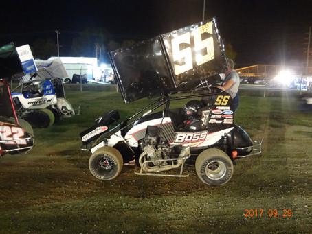 Belle Claire Speedway Knepper Memorial 9/29/2017.
