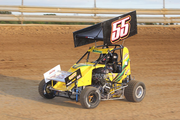 2nd micro-sprint race at Southern Illinois Raceway 5/15/2016.