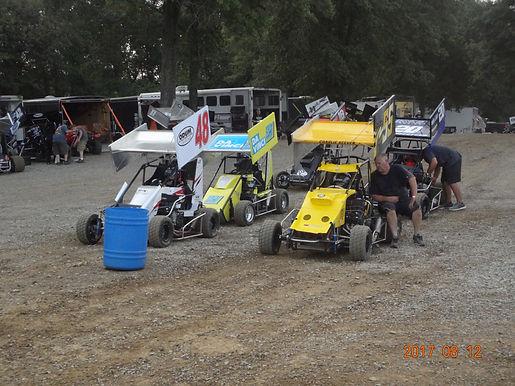 Southern Illinois Raceway Sportsman 8/12/2017 First Flip.