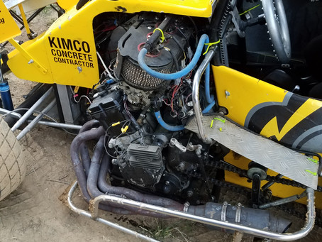 Southern Illinois Raceway Plated Micro-Sprints 6/3/2017 blows engine.
