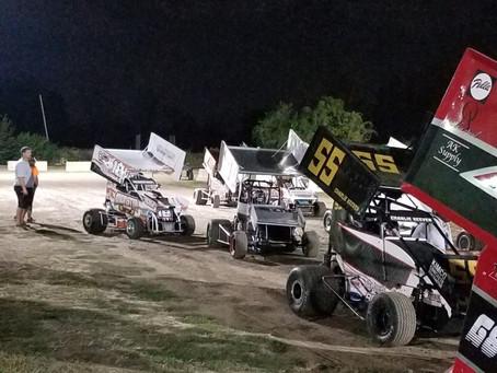Tri-City Speedway Micro-Sprint Race 10/6/2017.