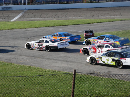 Anderson Speedway All Stars Tour 6/13/2020. 2nd 100 lap race finished by 13 year old Charlie Keeven.