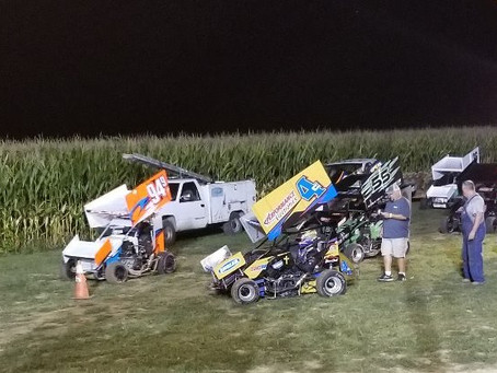 Wayne County Speedway Winged Outlaws 8/17/2018.