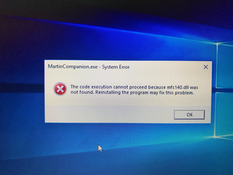 Martin Companion Installation Issues