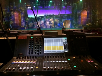 Yamaha CL1 at the Community Arts Center in Buffalo Grove, Illinois installed by Concert Sound Systems.