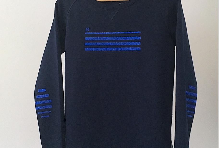 Sweat mariniere bleu