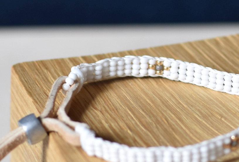 Bracelet MASSAI en perles de verre