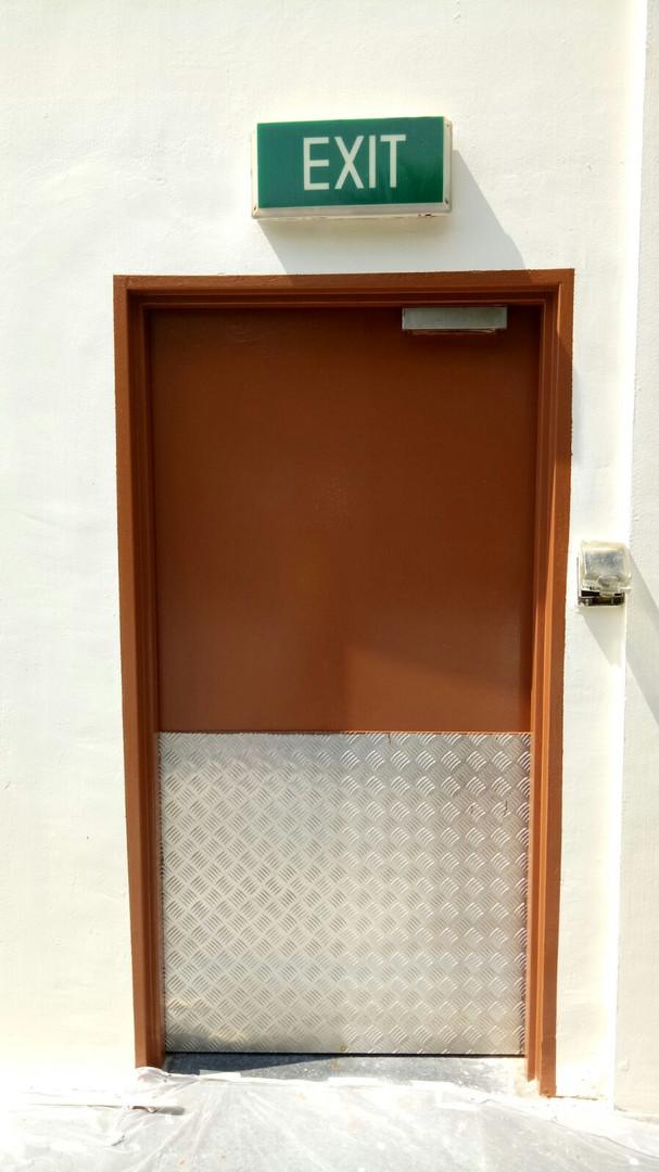 Fire Rated Door Replacement