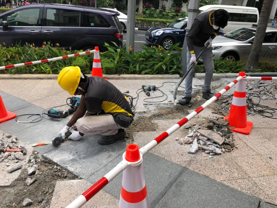 Pavement Repair Work
