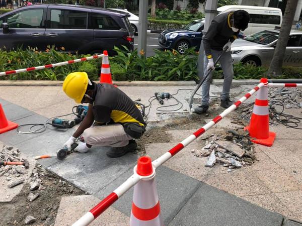 Pavement Repair Work