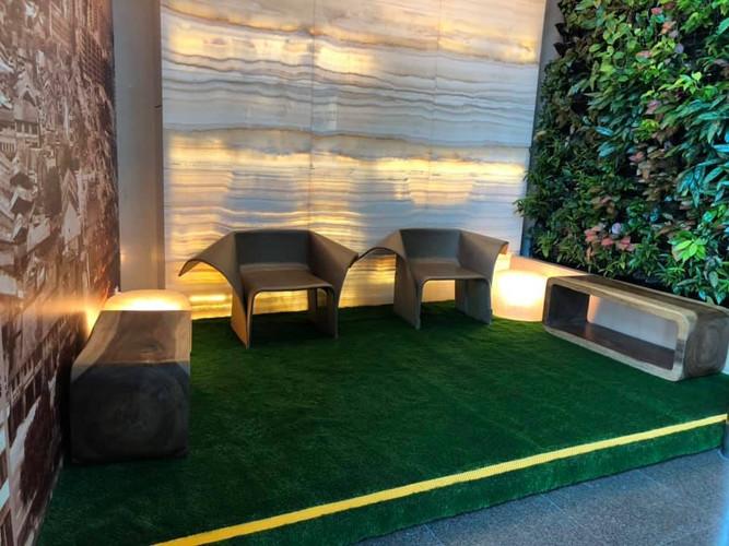 Artificial Carpet Grass Work