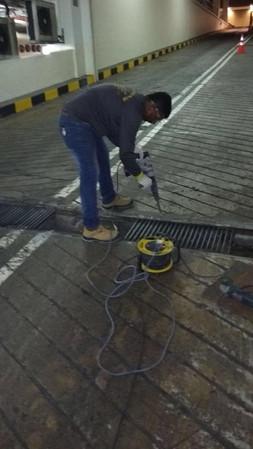 Drain Repair Work