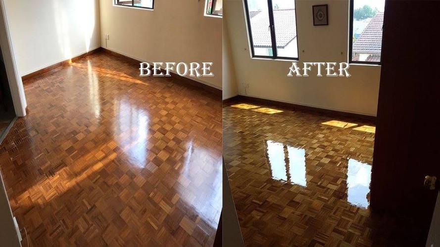 Parquet Floor Varnishing