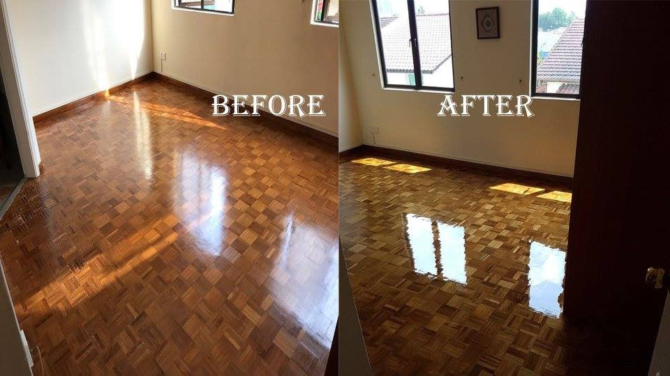 Parquet Floor Varnishing