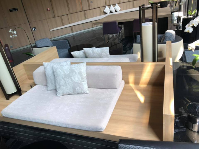 Make good of existing built in furniture