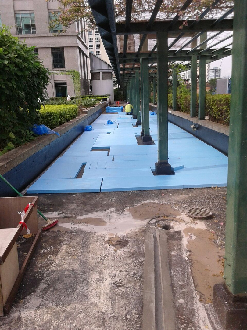 Waterproofing & Refurbishment Podium Roof