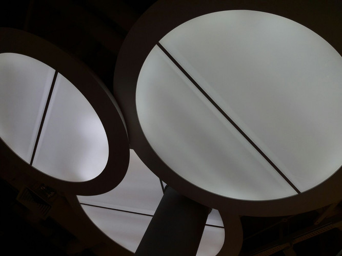 Round Timber Ceiling Work