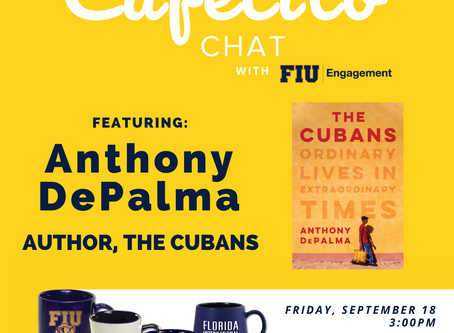 Cafecito Chat  Sept. 18, 3 pm