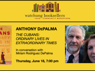 Watchung Booksellers Virtual Event