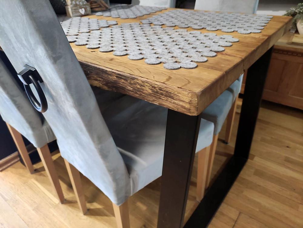 Stół drewniany w stylu Loft