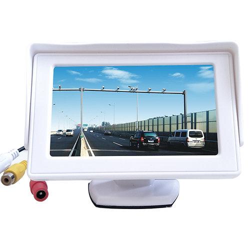 4.3 inch TFT LCD display CCTV monitor for car